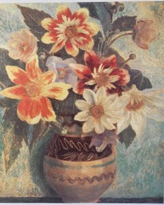 Dahlias by Dora